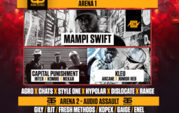 Mampi Swift - Concorde 2 - Saturday 1st Febuary 2020