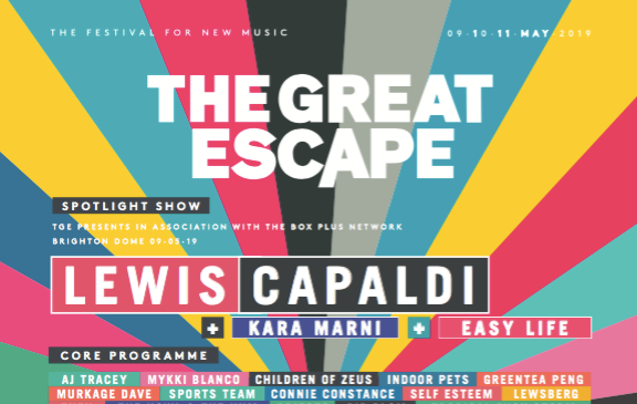 100 More Artists for The Great Escape Festival