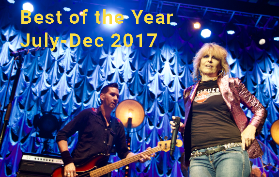 Best Of The Year (July – Dec 2017)